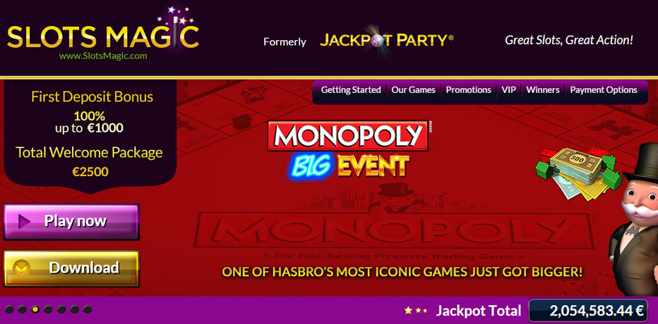 Monopoly Slots - Play Monopoly Slots for Free / Real / Mobile Ready