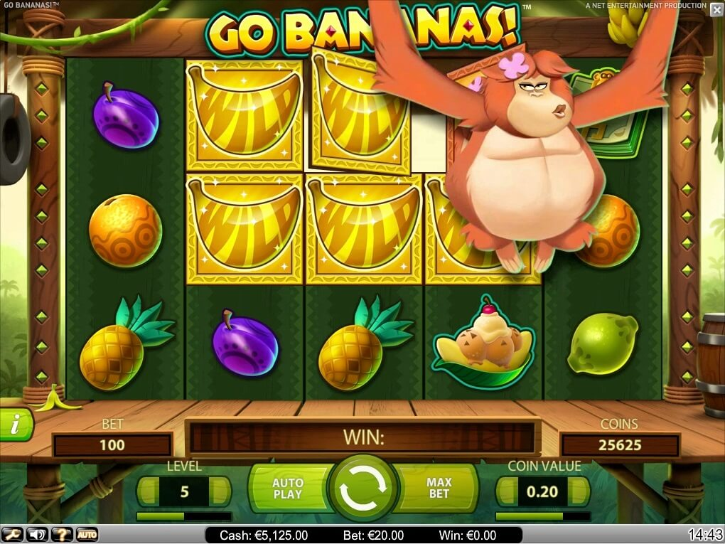 go bananas slot machine review netent casinos